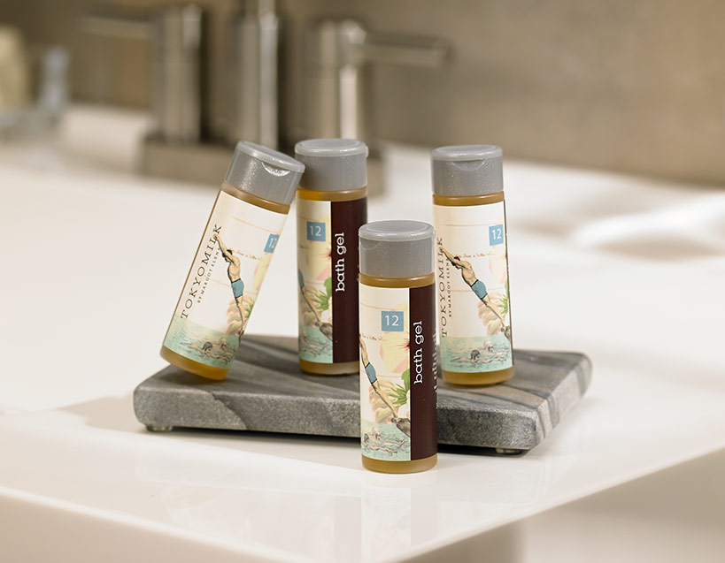 Gin & Rosewater Bath Gel Travel Set