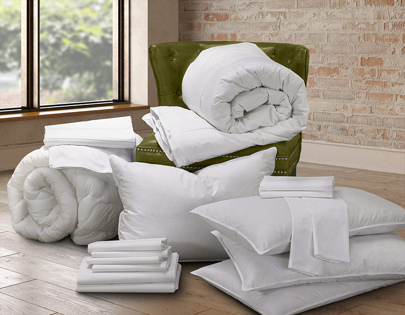 Signature Bed & Bedding Set