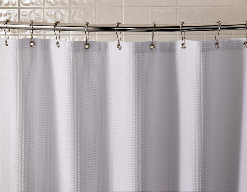 Shower Curtains With Matching Window Treatments.Waffle Shower Curtain Collect Renaissance