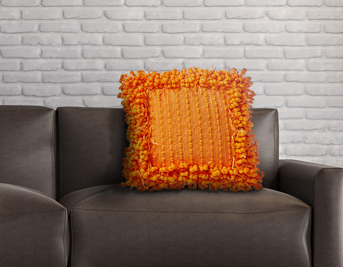 Confetti Frame Throw Pillow